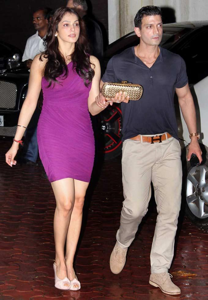 Eesha Koppikhar In Violet With Huby Tommy Narang Clicked