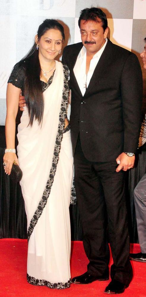 Sanjay Dutt With Wife Maanayata Still