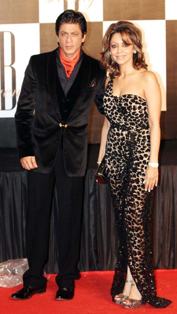 Shah Rukh KhanWith Wife Gauri Khan Still