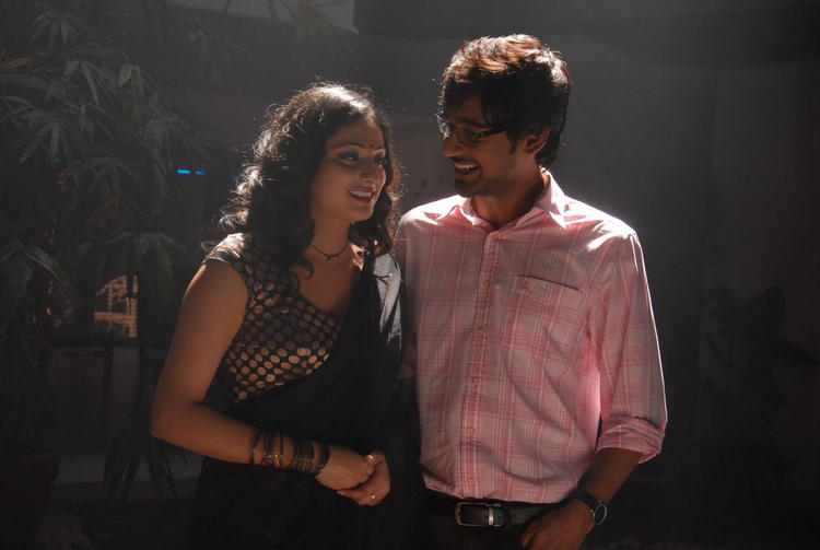 Varun Sandesh And Haripriya Nice Look With Cute Smiling Still