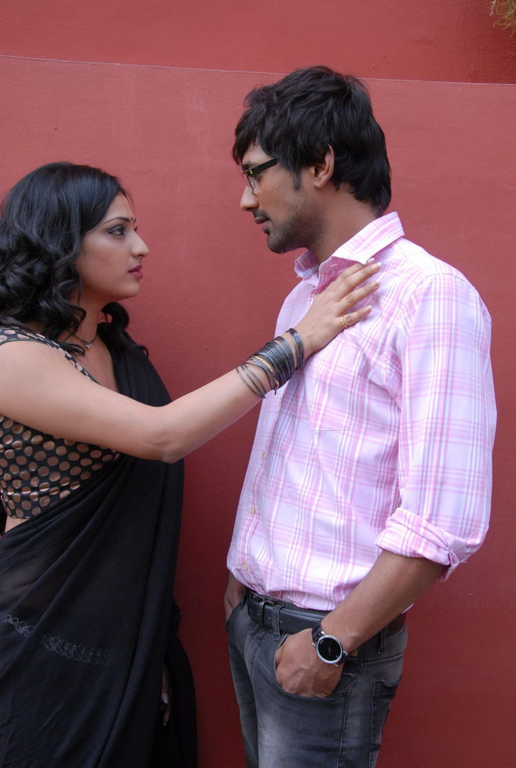 Varun Sandesh And Haripriya Spicy Pose Photo Shoot