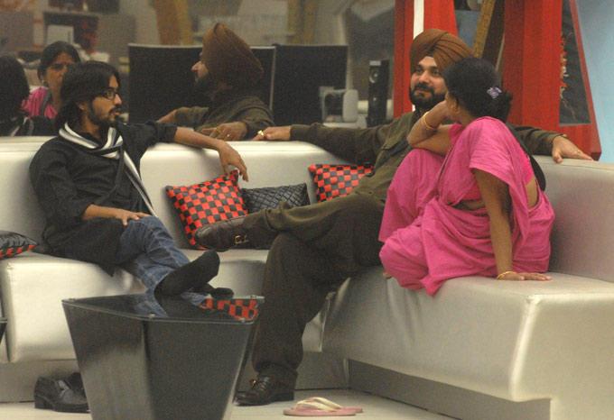 Sidhu,Asim And Sampat At Day 10 In The Bigg Boss House 6