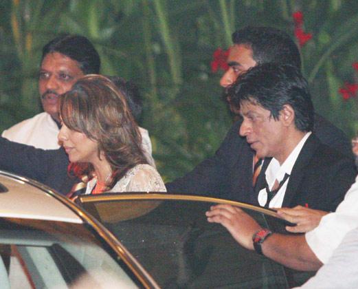 Shaharukh khan,Gauri khan