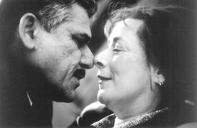 Om Puri And Linda Bassett A Still From East is East Drama