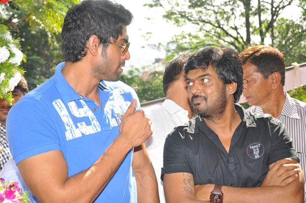 Rana And Puri Jagannath Attend The Opening Event Of Iddarammailatho Movie