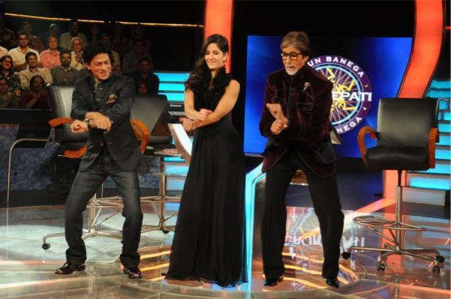 Shahrukh,Katrina And Amitabh Rocks At KBC