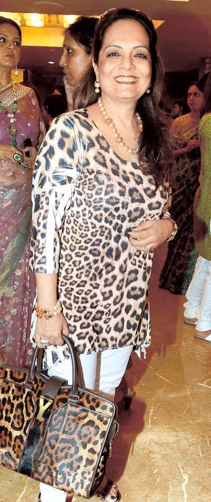 Asha Patel During The Launch Of IMC Ladies Exhibition