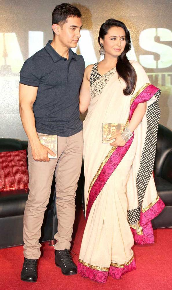 Aamir And Rani Snapped At The Music Launching Event Of Talaash
