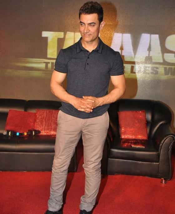 Aamir Khan Smiling Face Look Still On Red Carpet