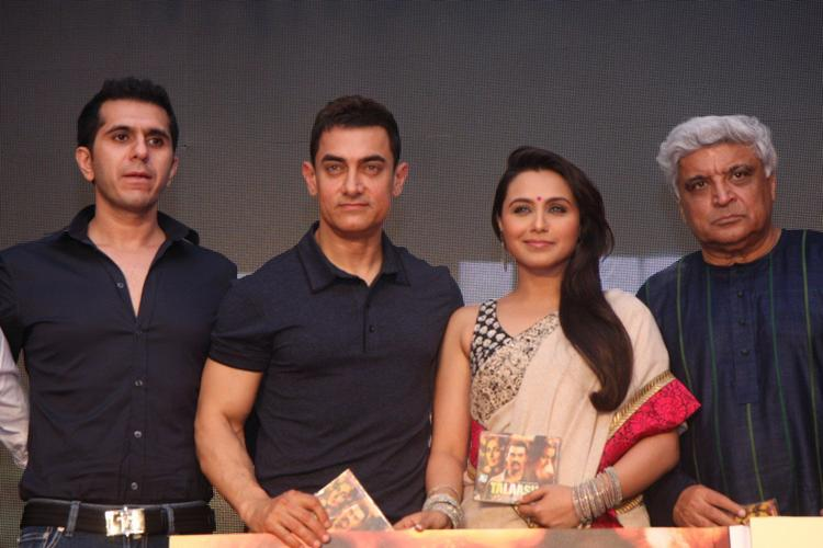 Aamir,Rani,Javed And Ritesh At Talaash Audio Launch