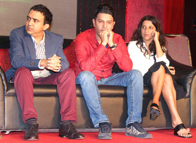Ram,Bhushan And Zoya At Talaash Music Launch Event