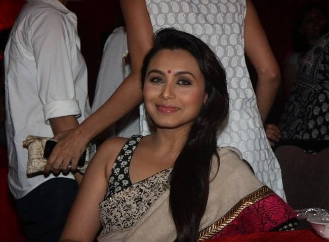 Rani Looked Radiant And Beautiful In Saree Still
