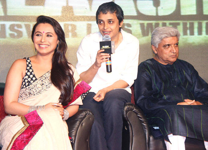 Rani,Reema And Javed Attend The Music Launch of Talaash
