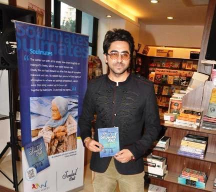 Ayushmann Shows A Book At Tahira Kashyap Book Launch Event
