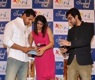 John,Tahira And Ayushmann During The Launching Event Of Tahira Kashyap Book