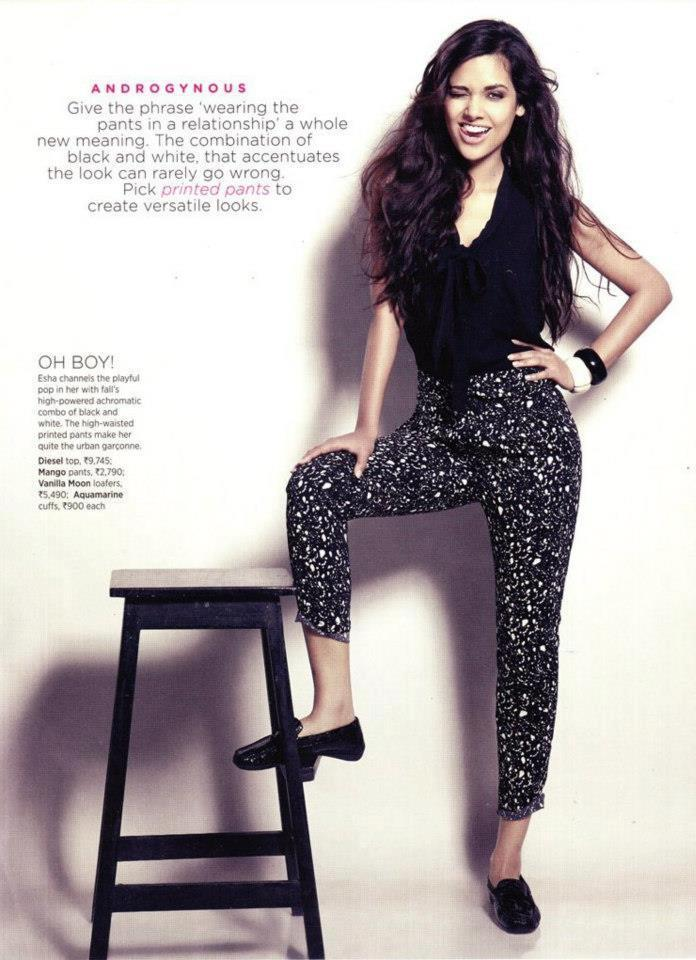 Esha Sizzling Photo Shoot For Women's Health October 2012