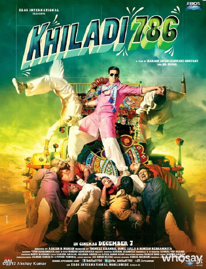 2nd  Poster From Khiladi 786
