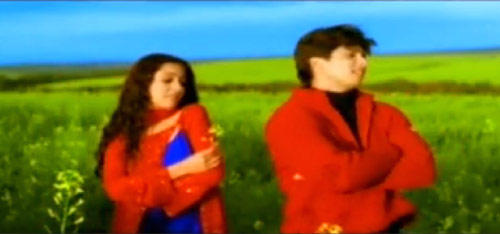 Shahid And Amrita Song Still From Ishq Vishq