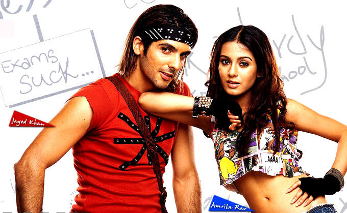 Zayed And Amrita A Still From Main Hoon Na
