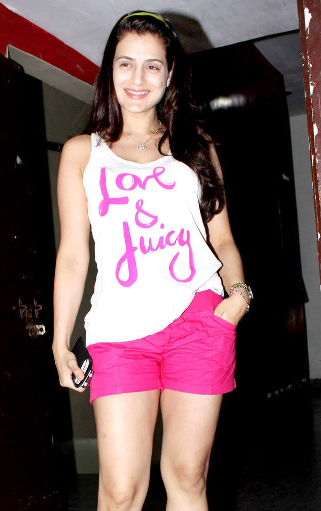 Ameesha Patel During The Screening Event Student Of The Year