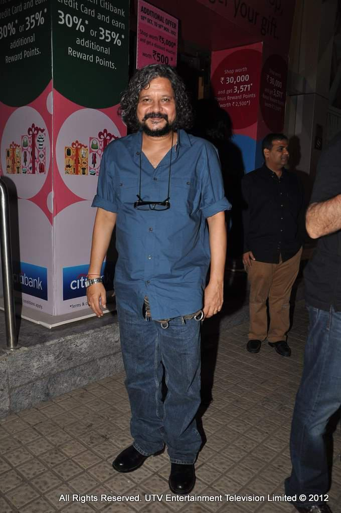 Amol Gupte At Student Of The Year Screening