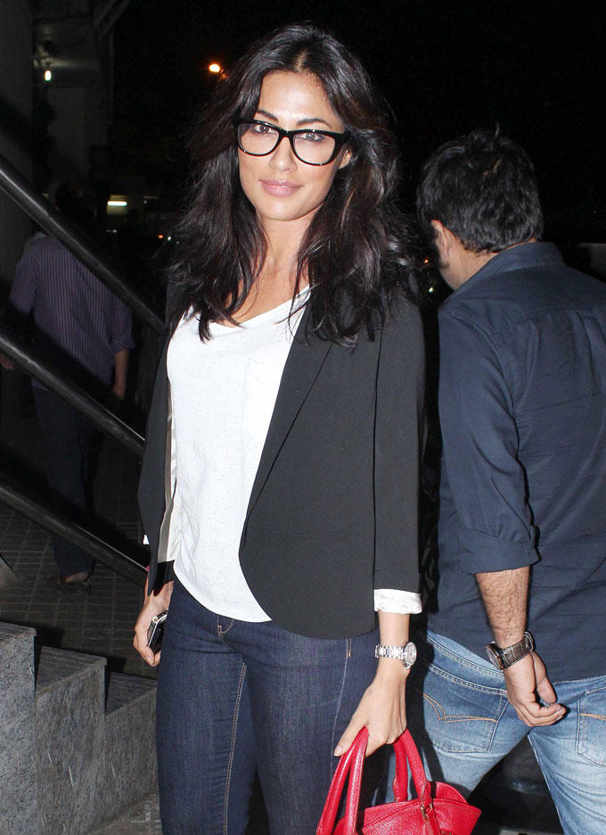 Chitrangada During The Screening Of SOTY Movie
