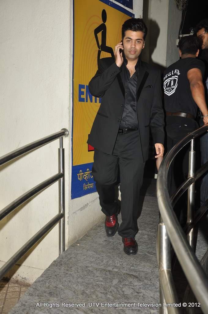 Karan Johar During The Screening OF SOTY