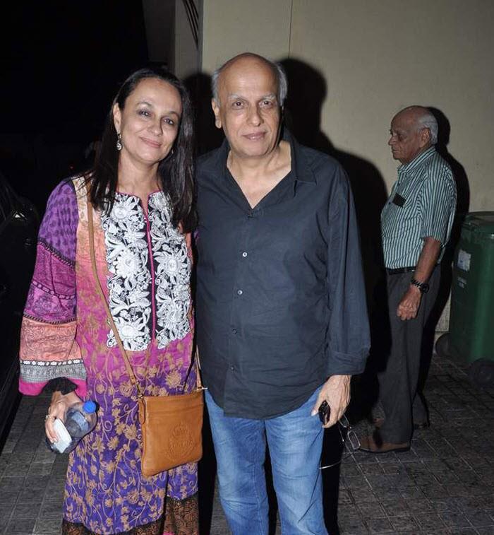 Mukesh Bhatt and Soni Razdan
