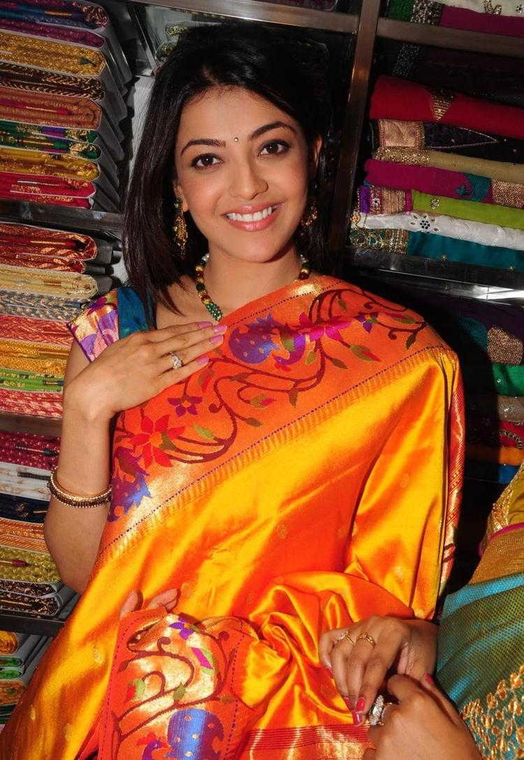 Kajal Agarwal Looked Radiant And Beautiful Still