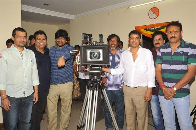 NTR Harish Shankar Movie Launch Stills