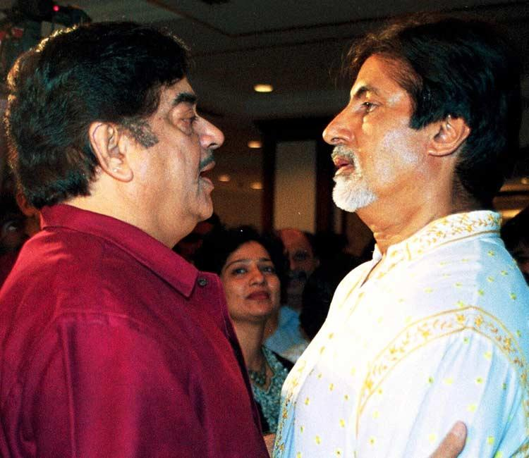 Amitabh Bachchan And Shatrughan Sinha Nice Photo