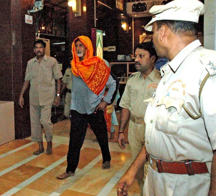 Amitabh Bachchan At Siddhivinayak Temple