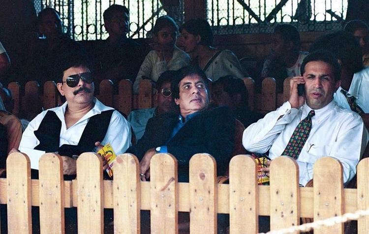Amitabh Bachchan At Wankhede Stadium