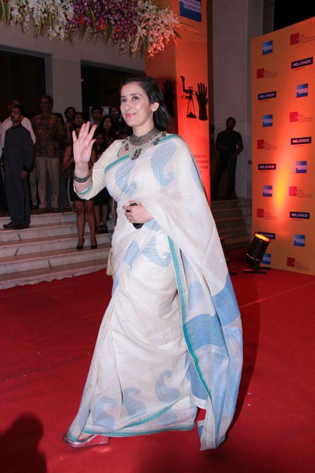 Manisha Koirala Greets Her Fans At Mumbai Film Festival Opening Ceremony