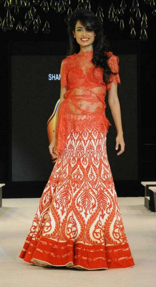 Sarah Jane Dias Walks At Blenders Pride Fashion Tour Hyderabad 2012