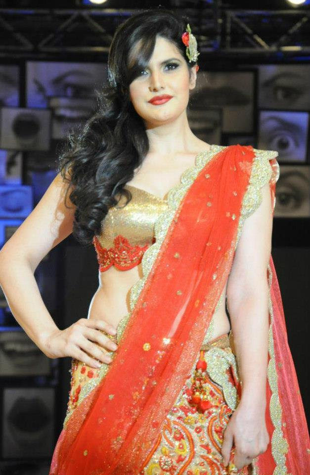 Zareen Walks On Blenders Pride Fashion Tour Hyderabad 2012