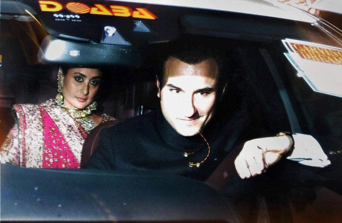 Saif And Kareena Still Way To Dawat E Walima