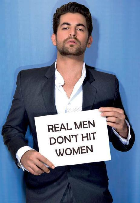 Neil Nitin Mukesh At Cosmo's Campaign Against Domestic Violence