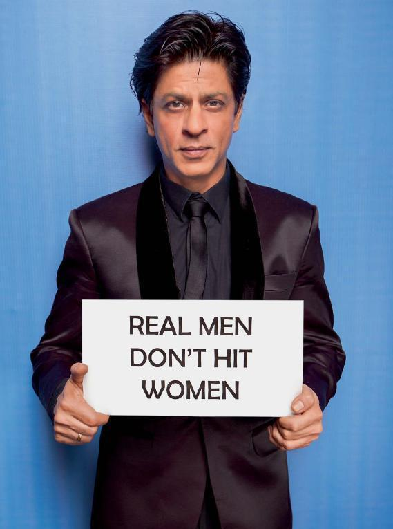 Shahrukh Khan At Cosmo's Campaign