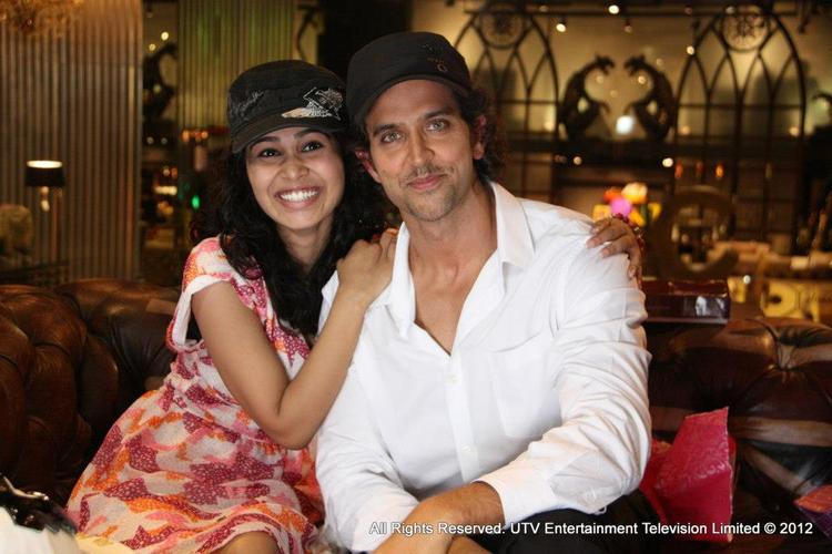 Hrithik With His Biggest Fan Still From LML 2