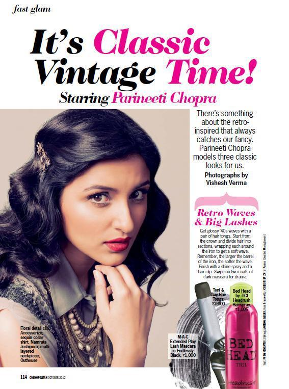 Parineeti Chopra Latest Photo Shoot For Cosmopolitan India