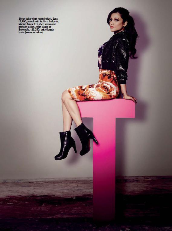Shruti Hassan Milky Legs Show Photo Shoot For Cosmopolitan India's 16th Anniversary Issue