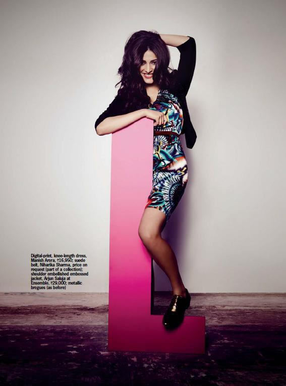 Shruti Hassan Nice Photo Shoot Cosmopolitan India October