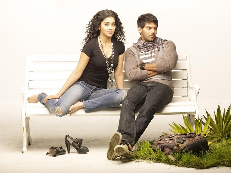 Arya And Shriya Saran Glamour Still