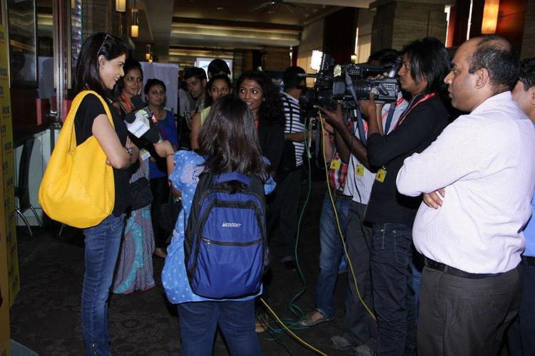 Genelia D'Souza Was Spotted At The Screening Of The Film Balak Palak