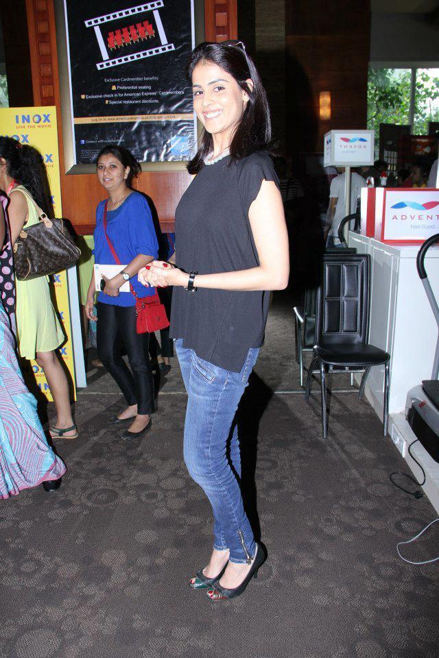 Genelia At The Screening Of Balak Palak At 14th MFF