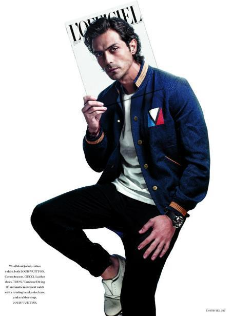Arjun Sharp And Stylish Photo Shoot For L'Officiel July August Issue