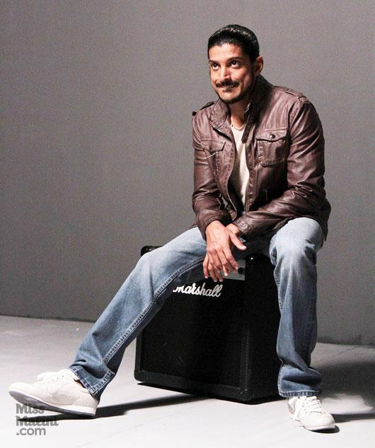 Farhan With Expressions Still During Photo Shoot
