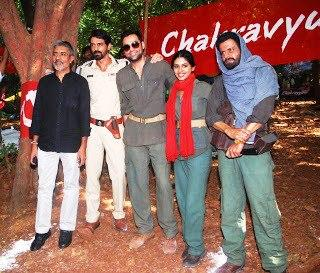 Prakash,Arjun,Abhay,Anjali And Manoj Spotted For Get Arrested Campaign