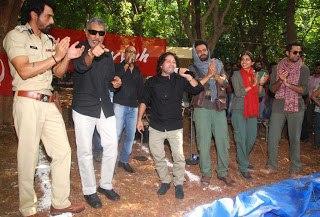 Prakash,Arjun,Abhay,Anjali,Kailash And Manoj Still At Get Arrested Campaign